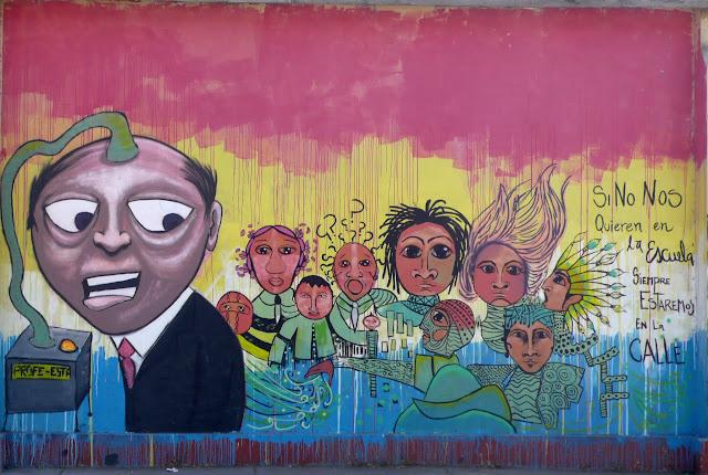 street art in santiago de chile educación arte callejero