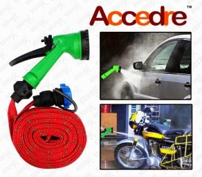 Shopclues : Buy Accedre Pressure Washing Multifunctional Water Spray Jet Gun 10 Meter at Rs.219 only (77% off) – Buy To Earn