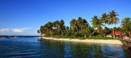 Kepualauan derawan : wisata alam di kalimantan yang indah
