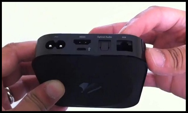 Apple TV Back Side India
