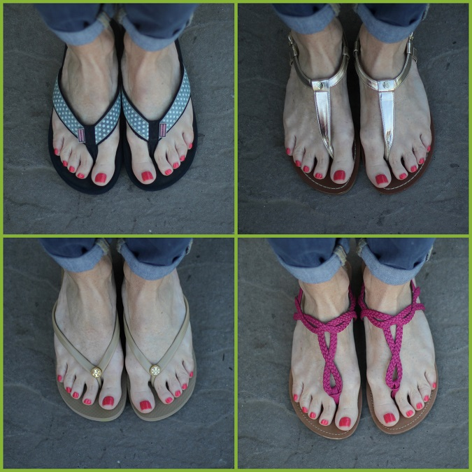 summer sandals, wedge sandals, flip flops, gold sandals, vineyard vines, Ralph Lauren, Tory Burch, Target, Simply Lulu Style, giveaway,