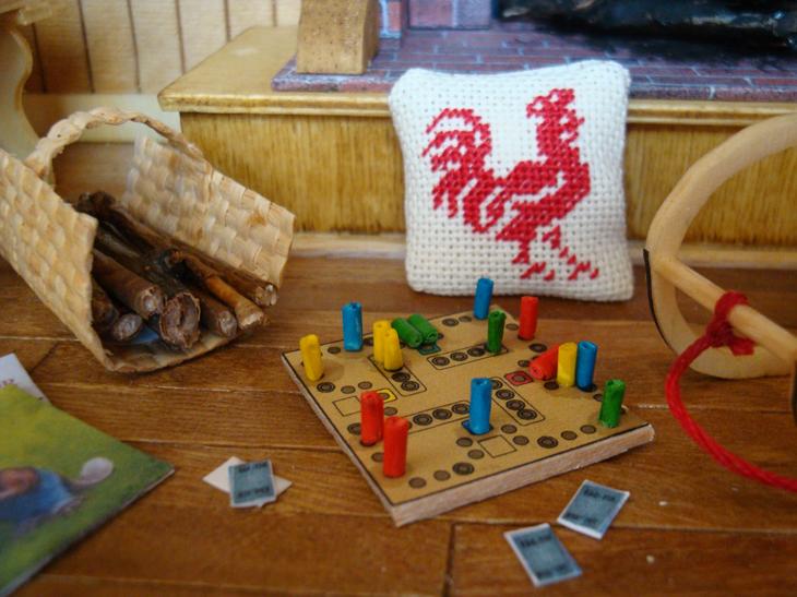 Fran oise 1111 le chalet rouge est termin - Comment fabriquer le jeu tac tik ...