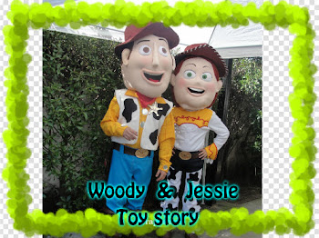 WOODY Y JESSIE TOY STORY