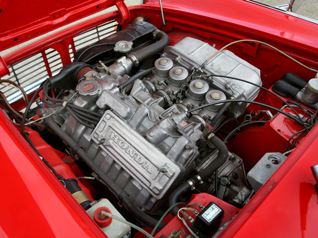 Honda S600, sports, japoński sportowy samochód, roadster, klasyk, stary, 日本車, スポーツカー, クラシックカー, ホンダ