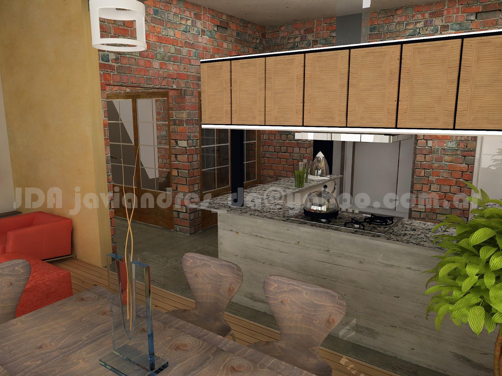 Arquitec maquetas remodelaci n 3d casa antigua buenos aires for Remodelacion de casas viejas