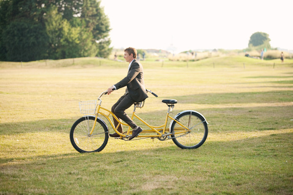81 Tandem Bike wedding