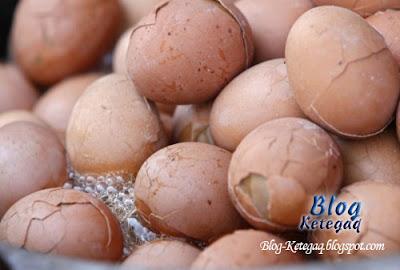 Rebus telur guna air kencing