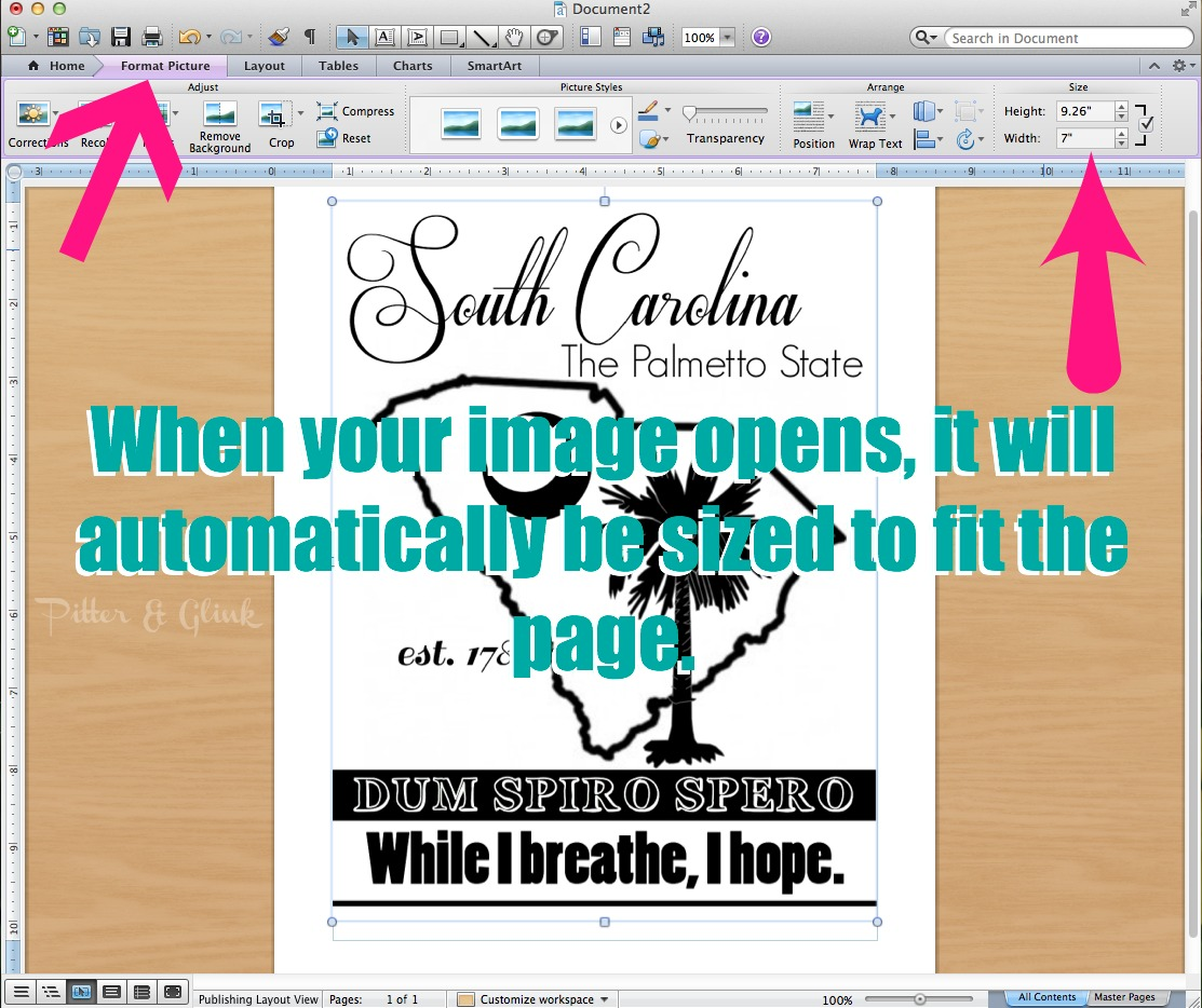 How to Print Large Graphics & Images Using Microsoft Word pitterandglink.com