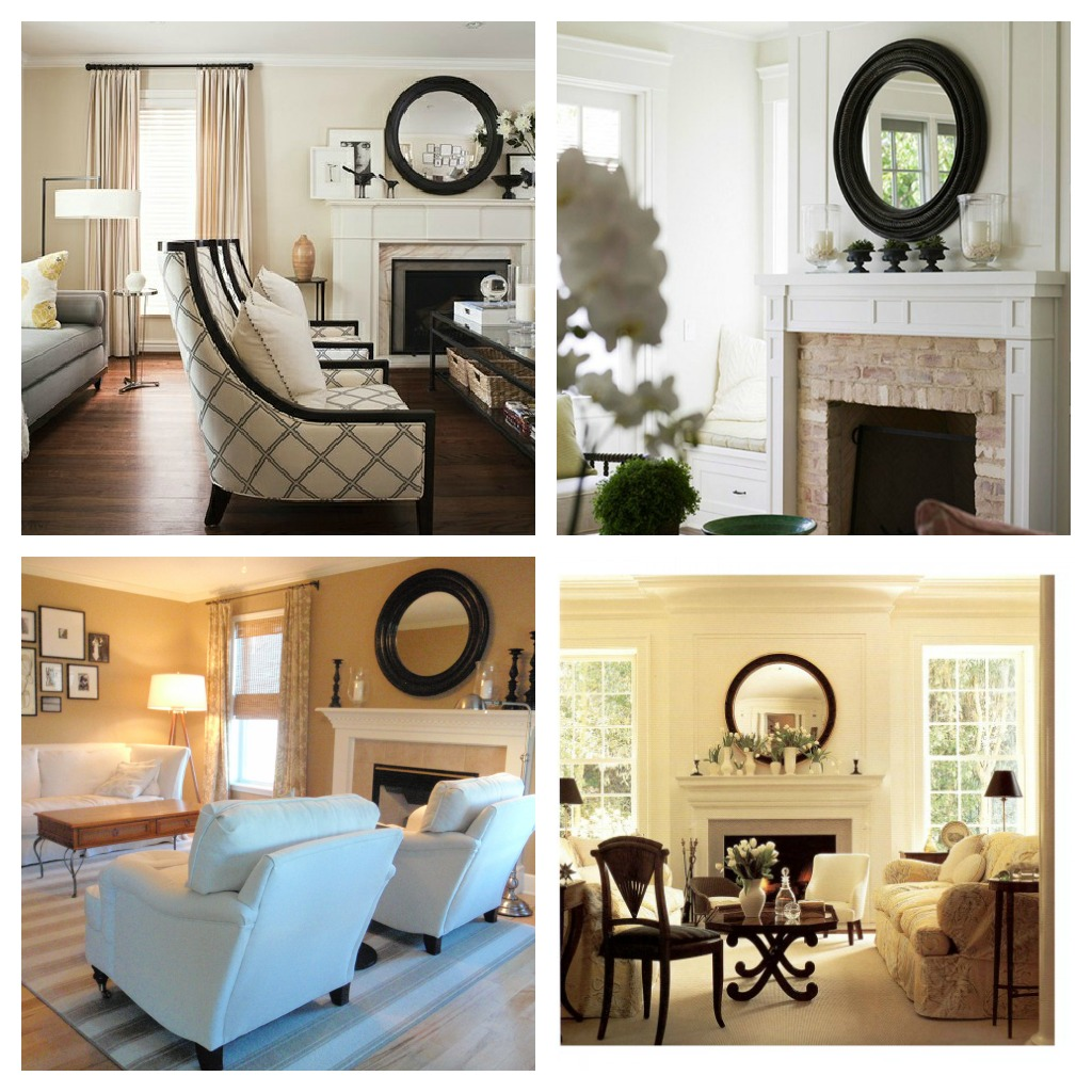 Delightfully Noted: Mirror, Mirror on the Wall: 8 Fireplace ...