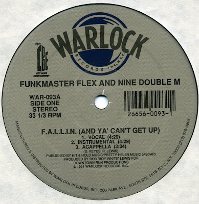 Funkmaster Flex & Nine Double M – F.A.L.L.I.N. (And Yall Can't Get Up) (VLS) (1991) (320 kbps)