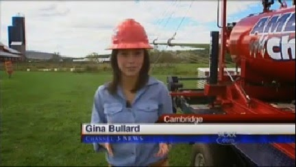 Gina Bullard, WCAX, reports on VT Pumpkin Chuckin' and American Chunker