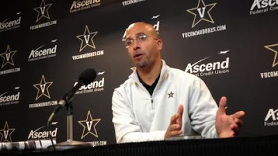 Vanderbilt HC James Franklin does his best sidestep in avoiding questions about USC coaching job.