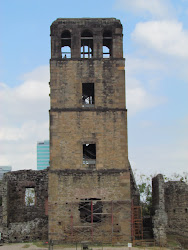Bell Tower, in remains of Casco Viejo
