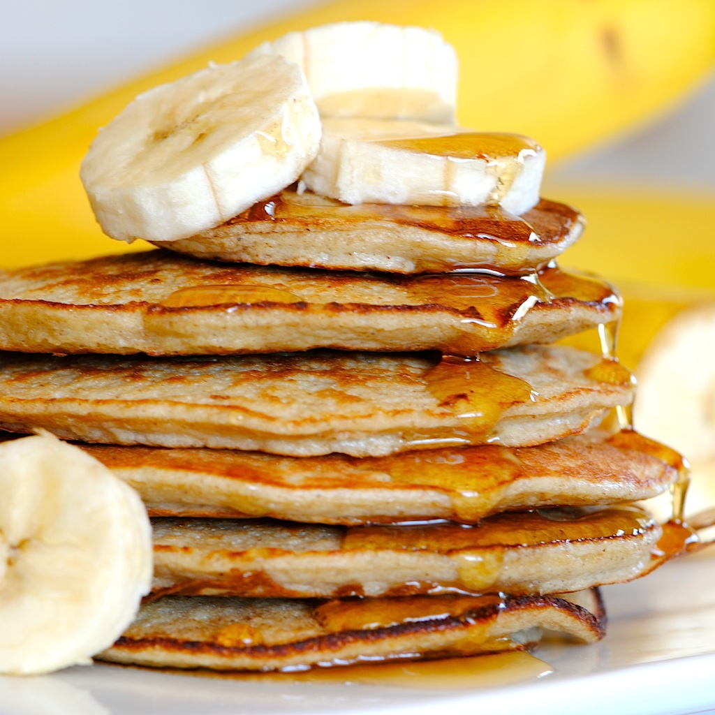 JULES FOOD...: The Banana Pancake Experiment