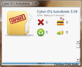 Cyber-D's AutoDelete