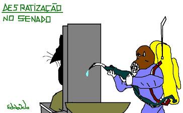 DESRATIZAÇAO NO SENADO