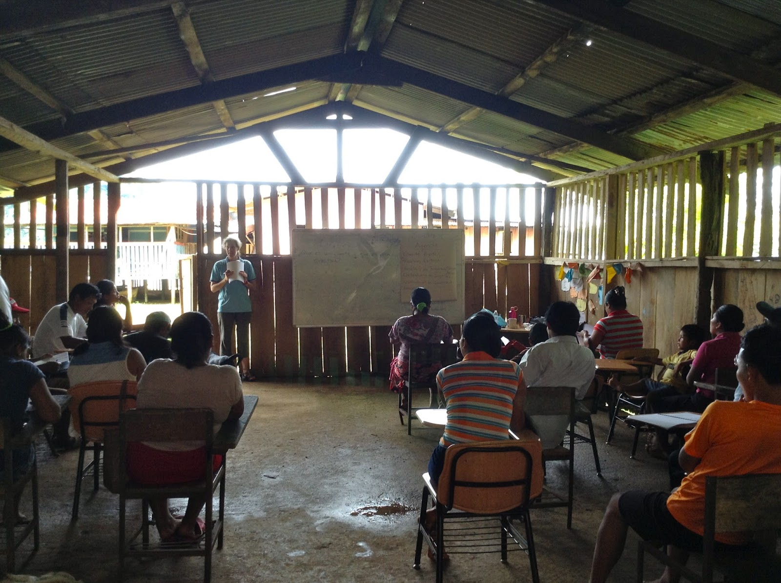 Teaching Agribusiness to Panama Residents