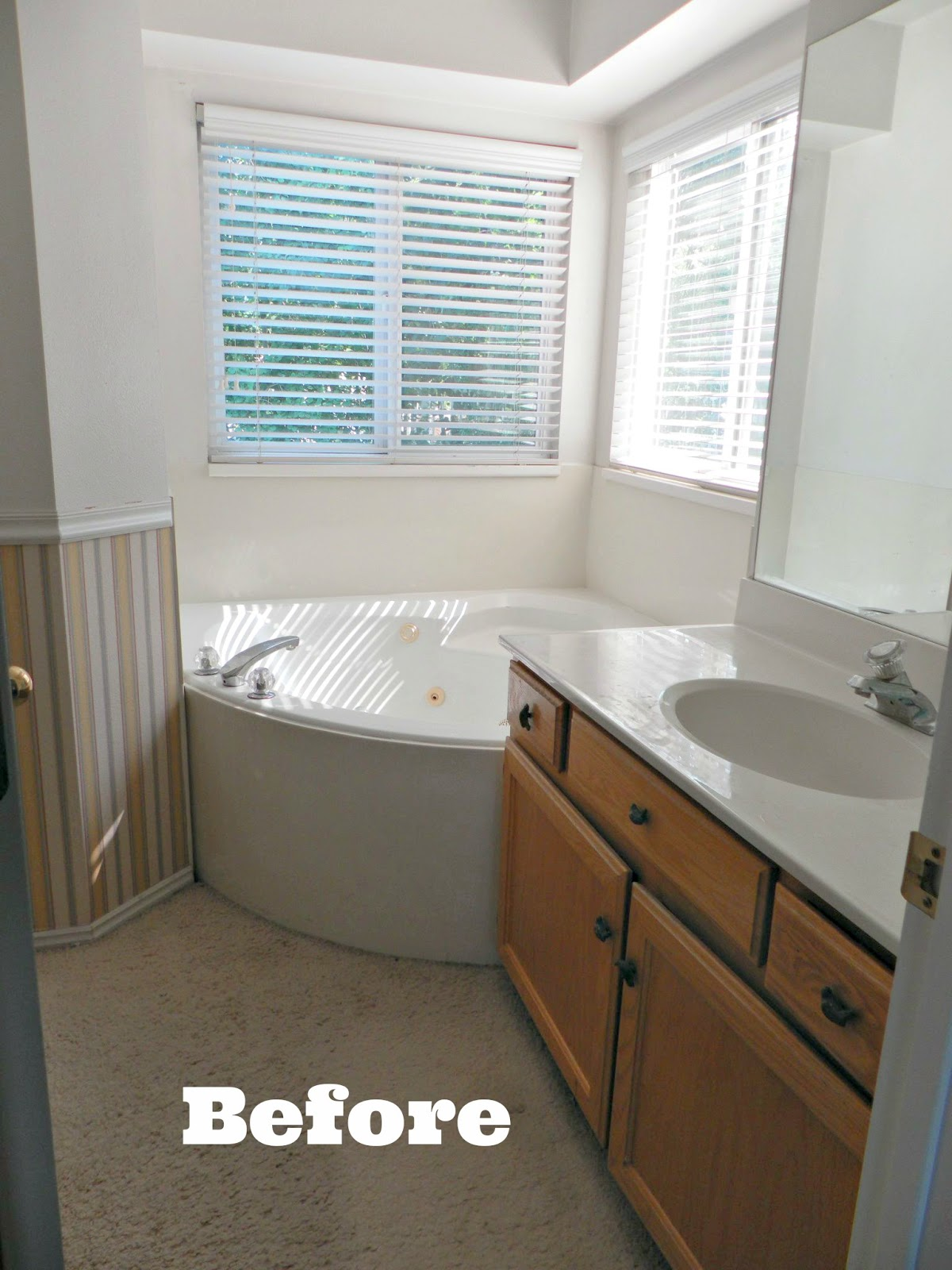 Be book bound from the design book a bathroom makeover for Help me decorate my bathroom