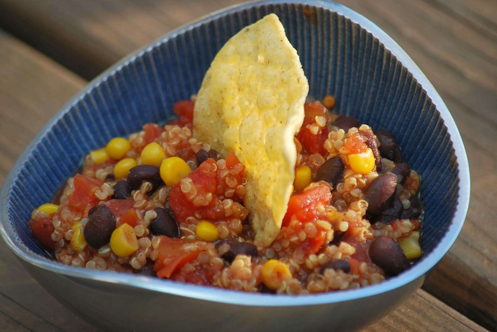 My story in recipes: Slow Cooker Quinoa Chili