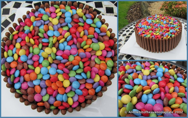 A little bit of heaven on a plate An easy birthday cake how to