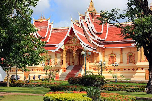 Thatluang Wat Neua (Vientiane, Laos)