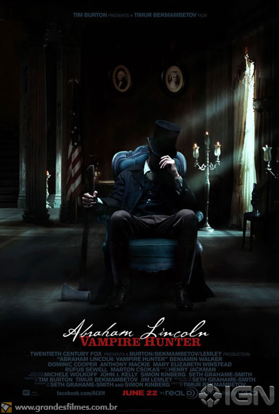 Poster de Abraham Lincoln - Vampire Hunter