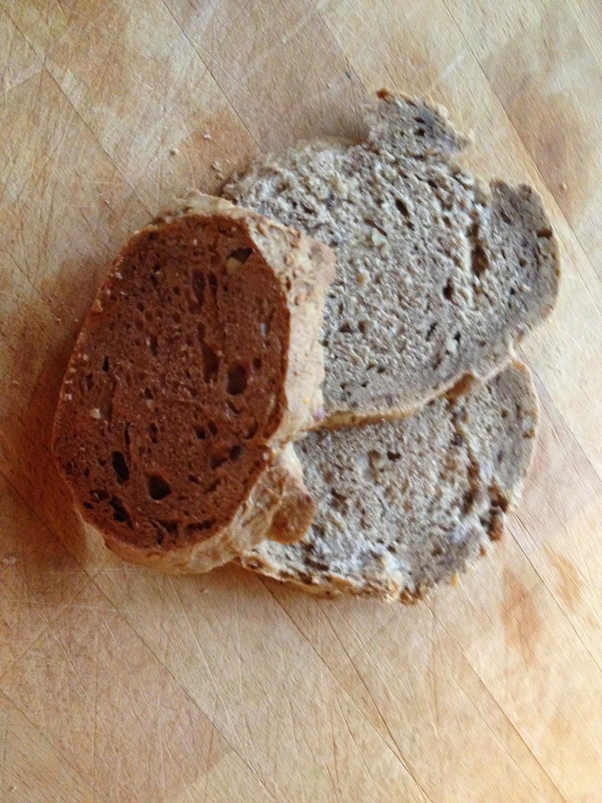 Pane integrale con pasta madre