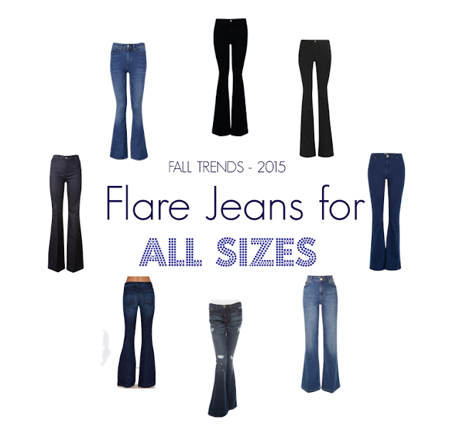 Flare jeans FOR ALL SIZES | Curvy Outfit Ideas | Petite Outfit Ideas | Plus Size Fashion | Fall Fashion | OOTD | Professional Casual Chic Fashion and Style Inspiration