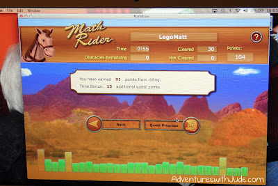 Matthew - Math Rider screenshot