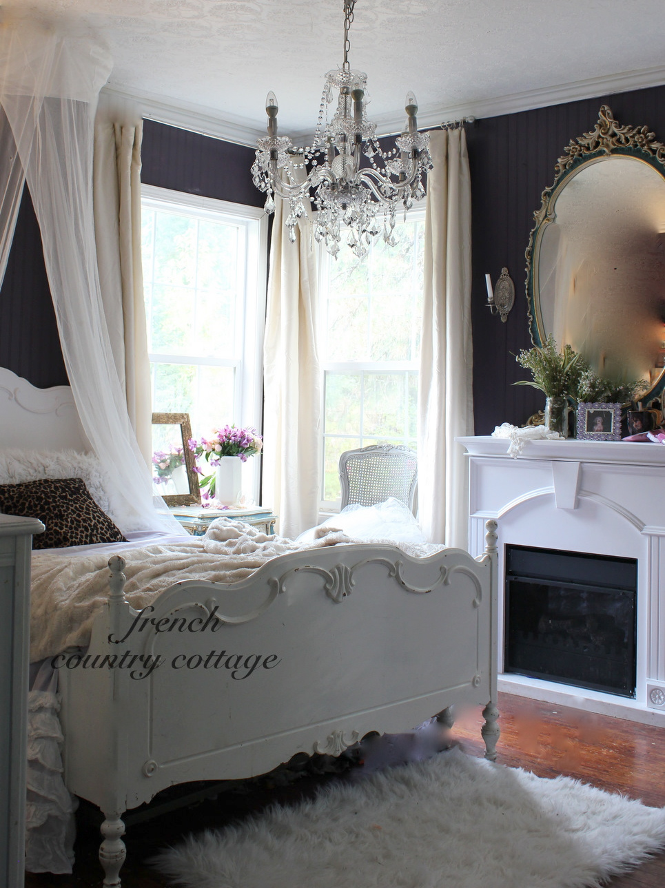 french country home bedroom No Tricks Just a Treat! - FRENCH COUNTRY COTTAGE