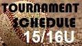15/16U Schedule
