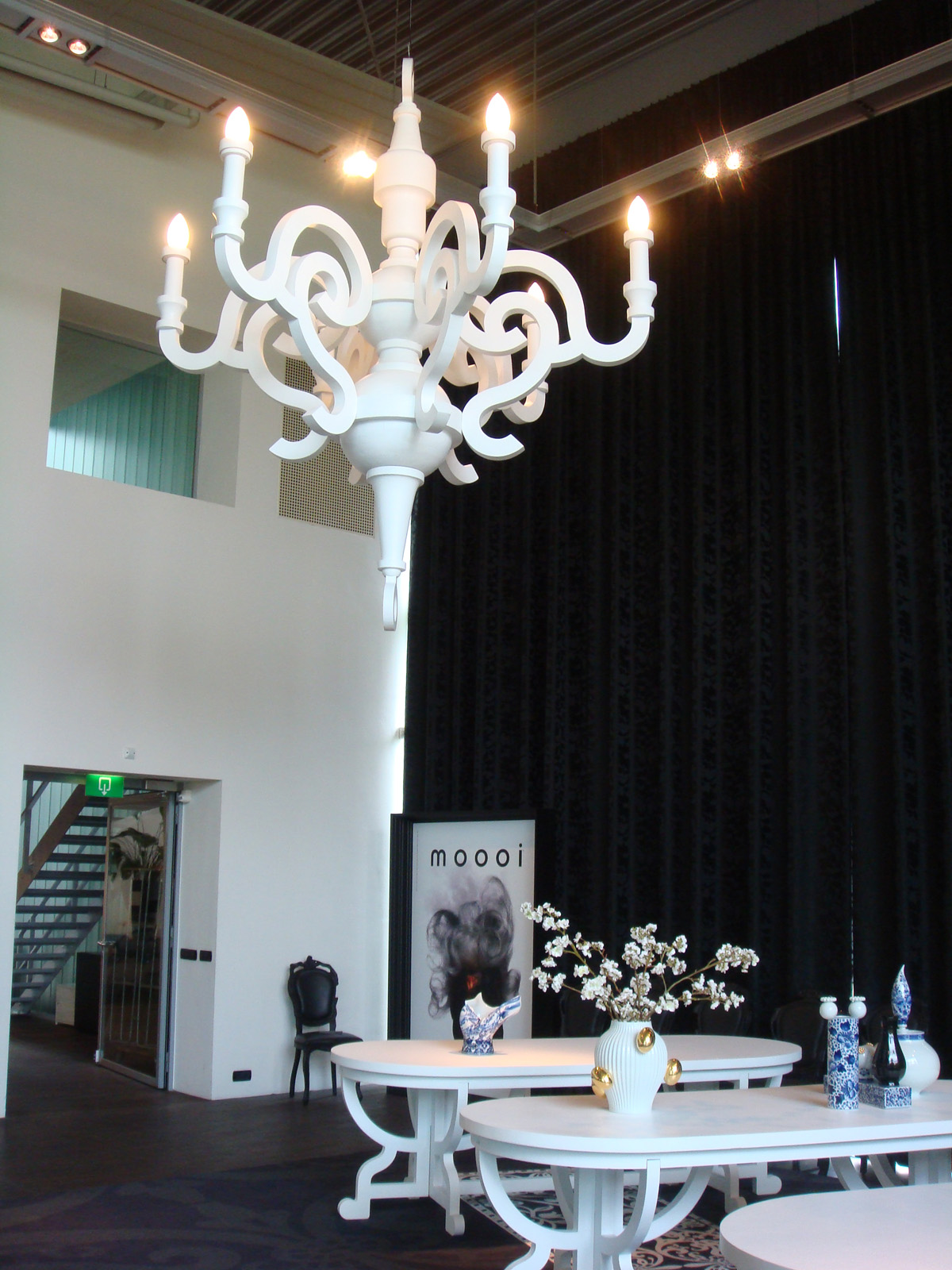 Modern interior design paper large chandelier white moooi studio job paper chandelier for moooi click above image to enlarge moooi design is available from stardust image credit stardust arubaitofo Image collections