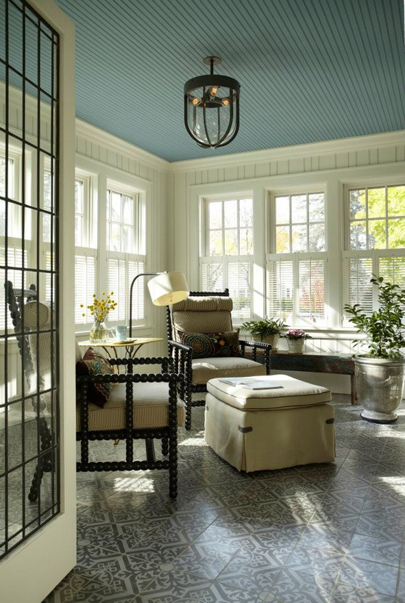 Color Changes Everything: Painted Ceilings