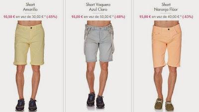 Shorts para hombres