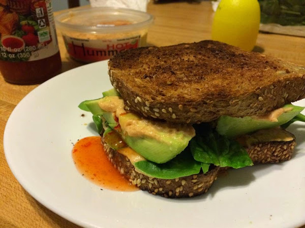 amazing sandwich.