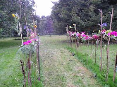Homemade Garden Path Keen Fitting
