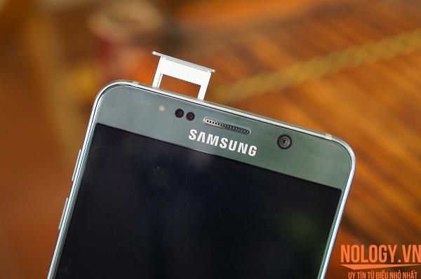 Samsung trình làng Galaxy Note 5 2 sim