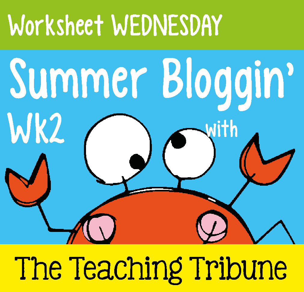 First Grade Garden: Worksheet WEDNESDAY