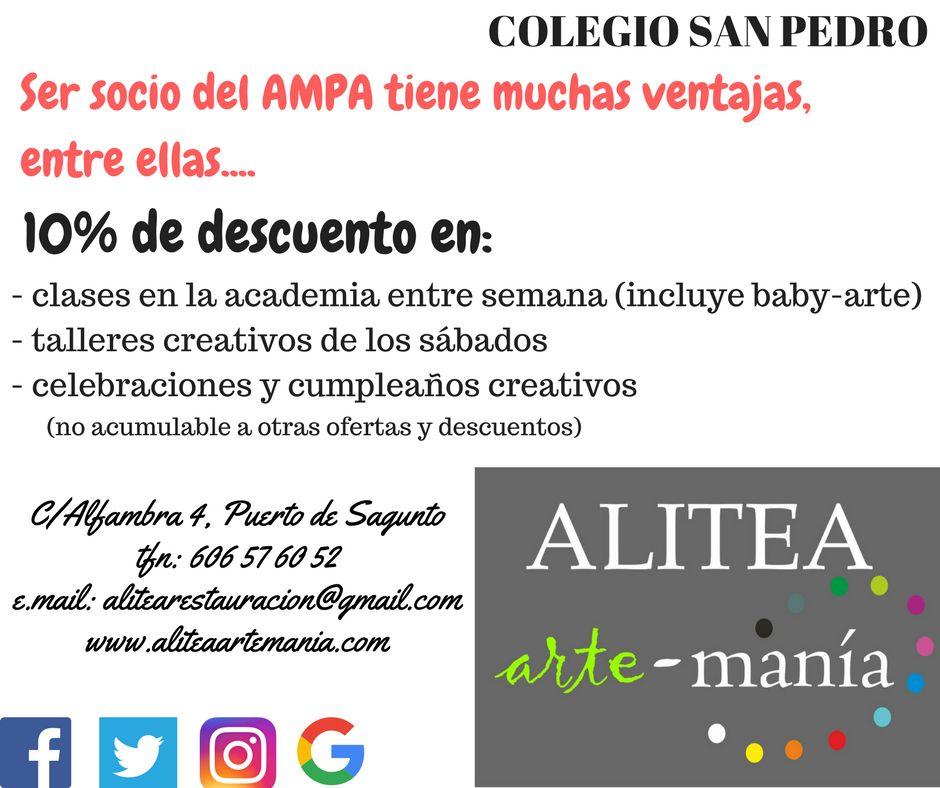 Colaboración con Alitea Arte Manía