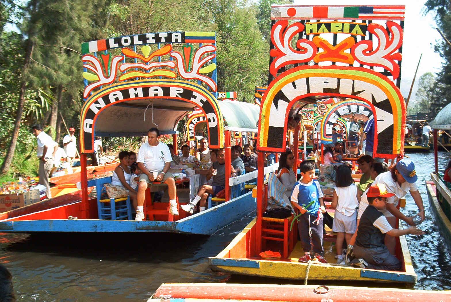 Las Aventuras Xochimilco Mexico City