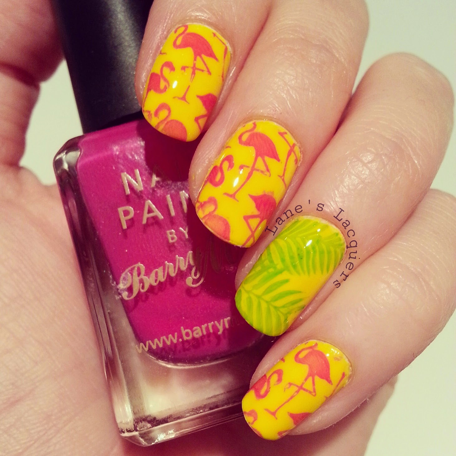 barry-m-summer-flamingo-nail-art