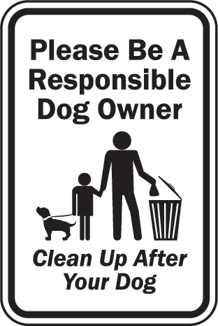If you are a dog owner, you have a legal duty to clean up every time your dog messes in a public place.