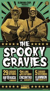 THE SPOOKY GRAVIES (29 out)