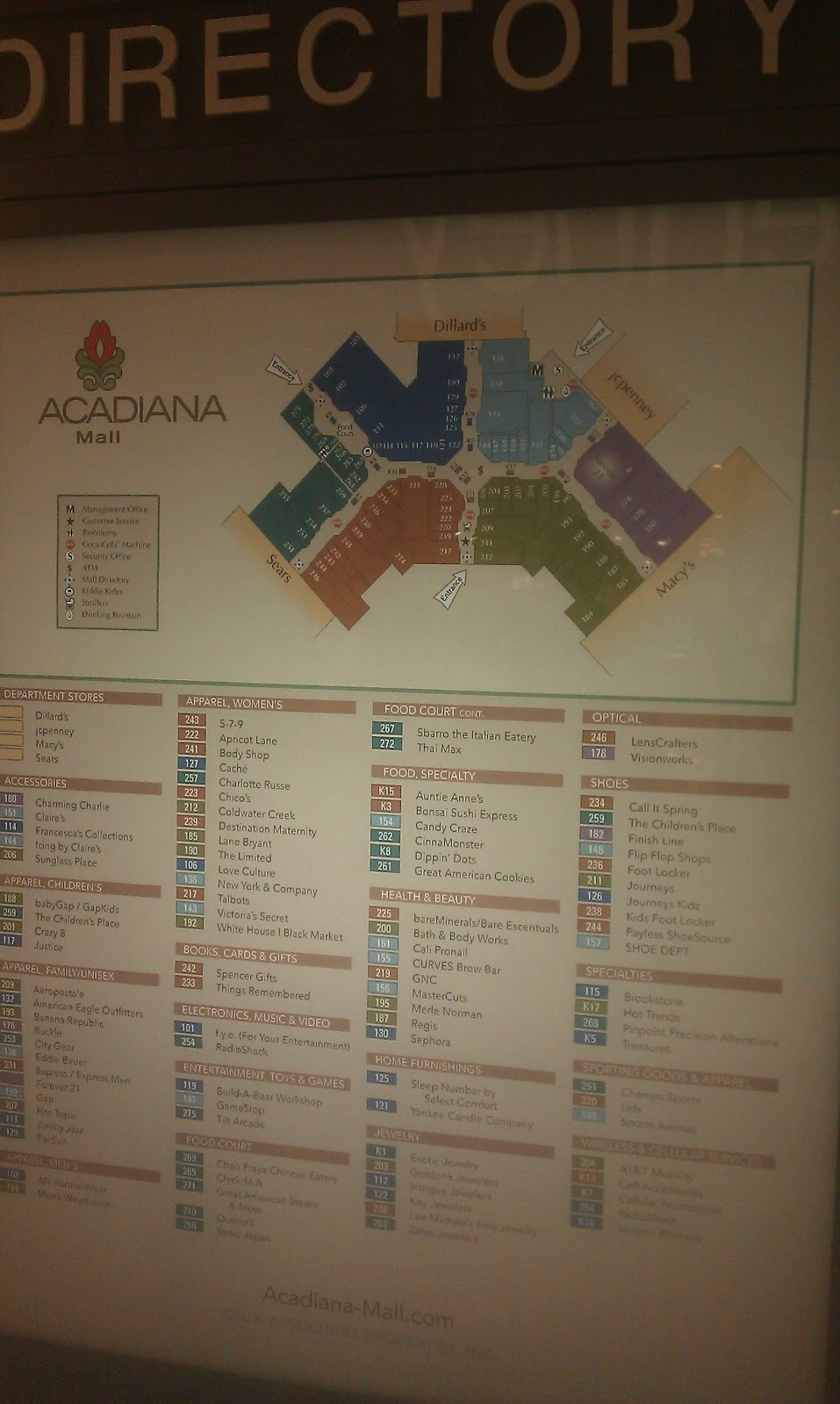 26 innovative Mall Of Louisiana Map – bnhspine.com