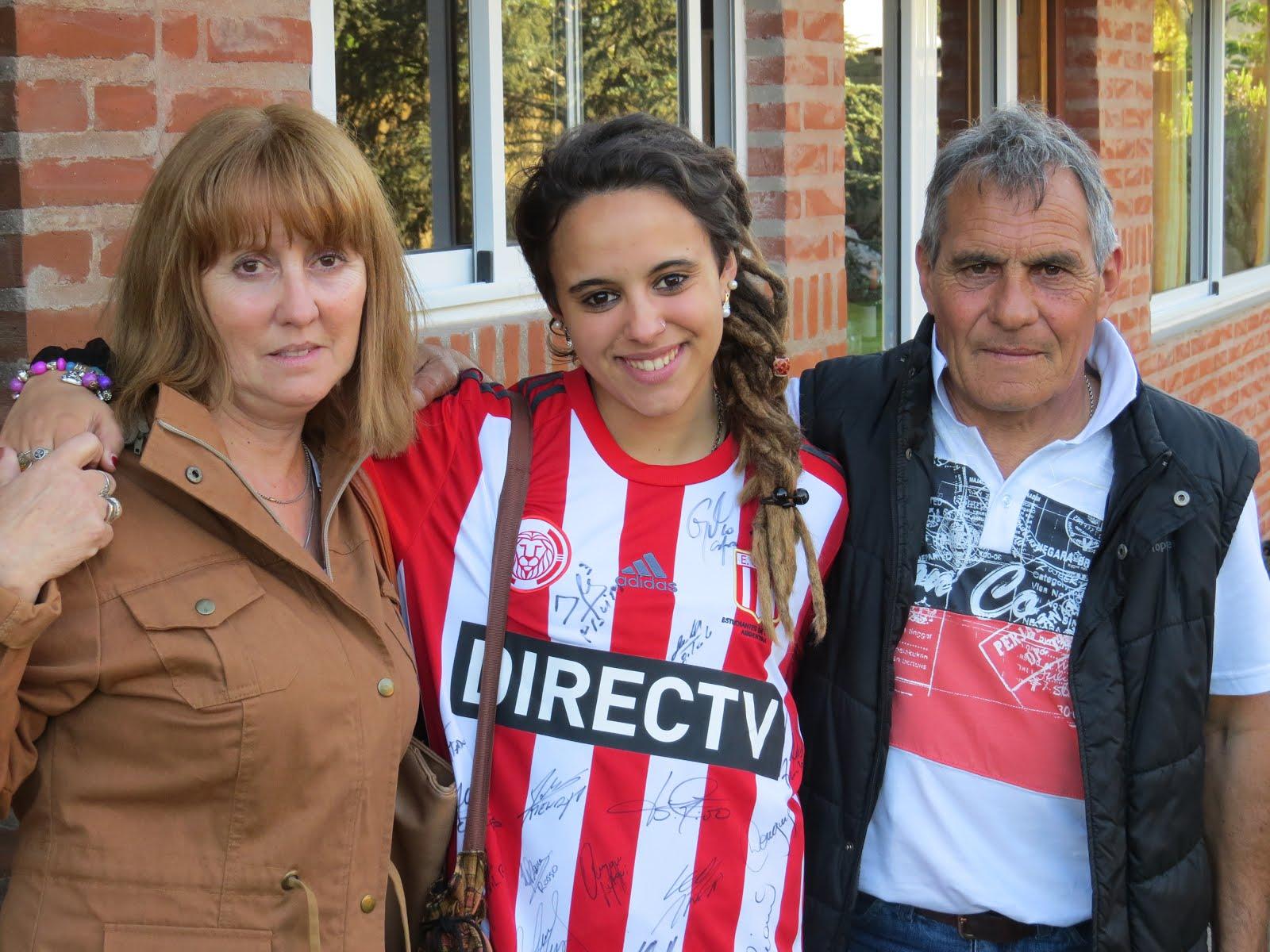 Rosario Herrera se ganó la camiseta de Estudiantes