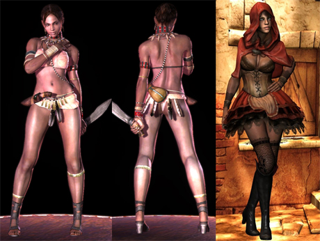 Las chicas mas sexys de los videojuegos (I) - Sheva Alomar , Resident Evil 5