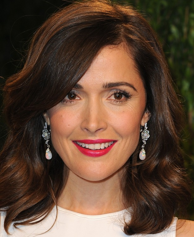 rose byrne pos oscares maquilagem 2013, oscars party makeup 2013