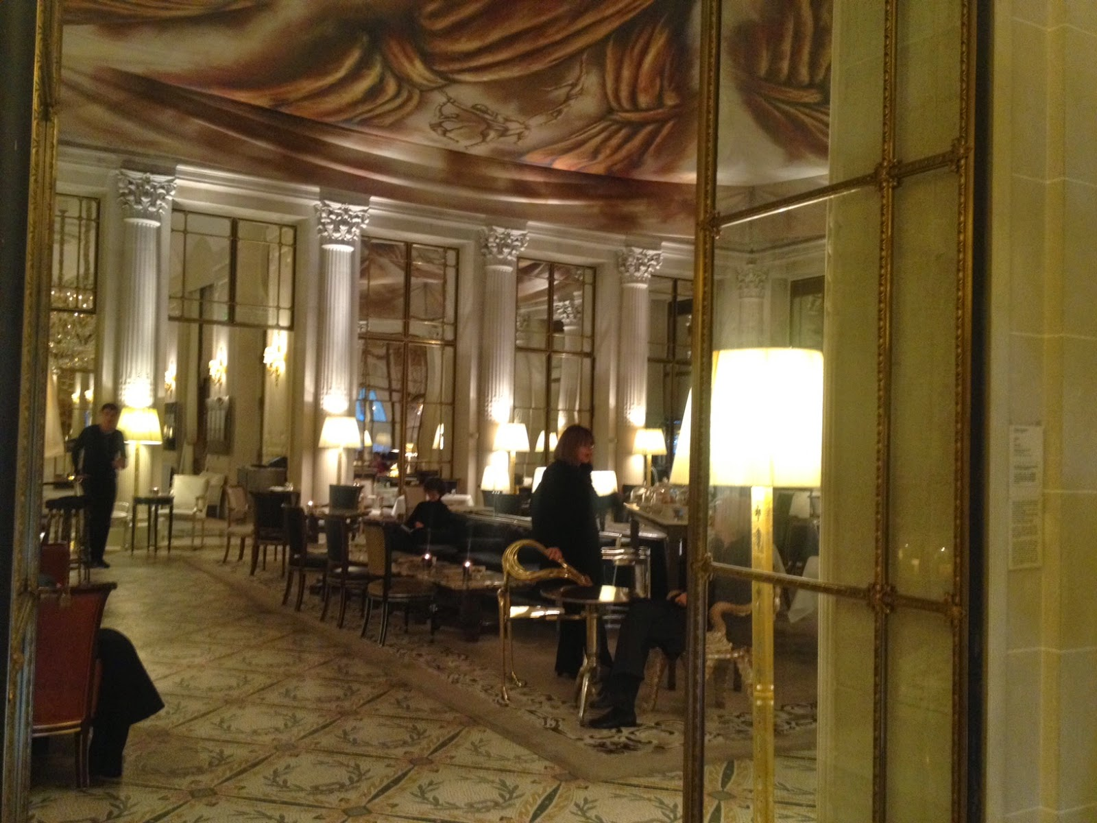 View of Le Dali at Le Meurice hotel in Paris