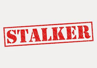 Stamp that says stalker