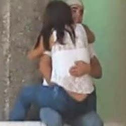 Flagra Amador do Casal na Pracinha - http://www.videosamadoresbrasileiros.com